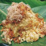 Xôi ruốc – món ăn bình dân quen thuộc của người Việt